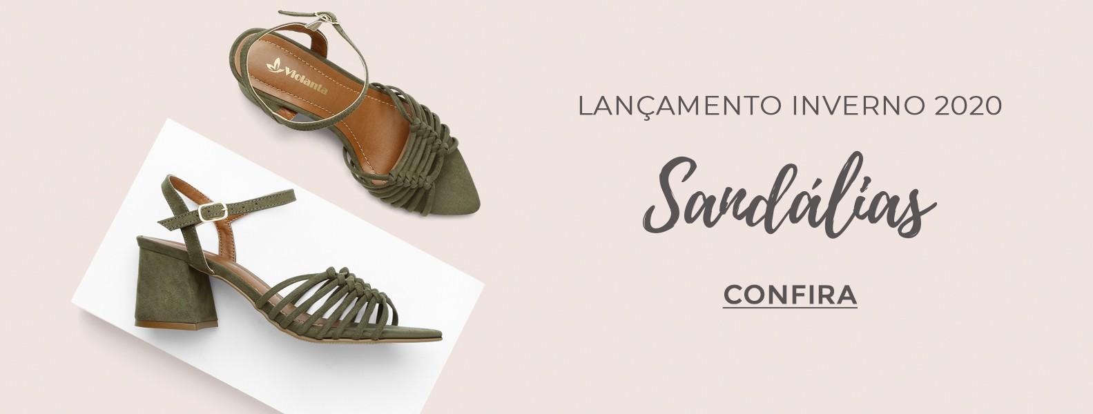 Lançamento sandálias