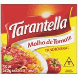 Tarantella Molho Tom 520g Tetra Tradic. - Day 2 Day