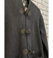 TRENCH COAT INSPIRED BURBERRY - CINZA