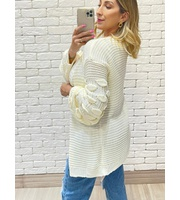 CASACO TRICOT DETAILS - OFF
