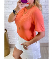 CROPPED MALHA - CORAL