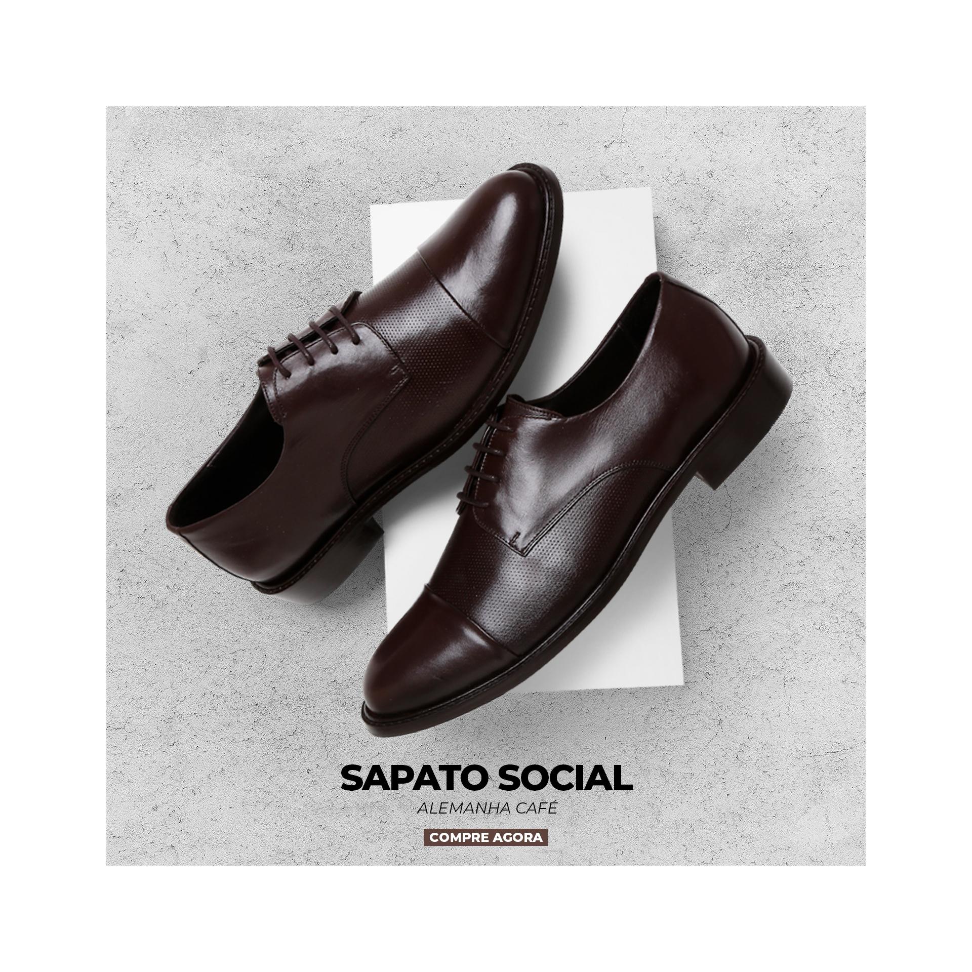 Sapato Social Bernatoni Alemanha Café