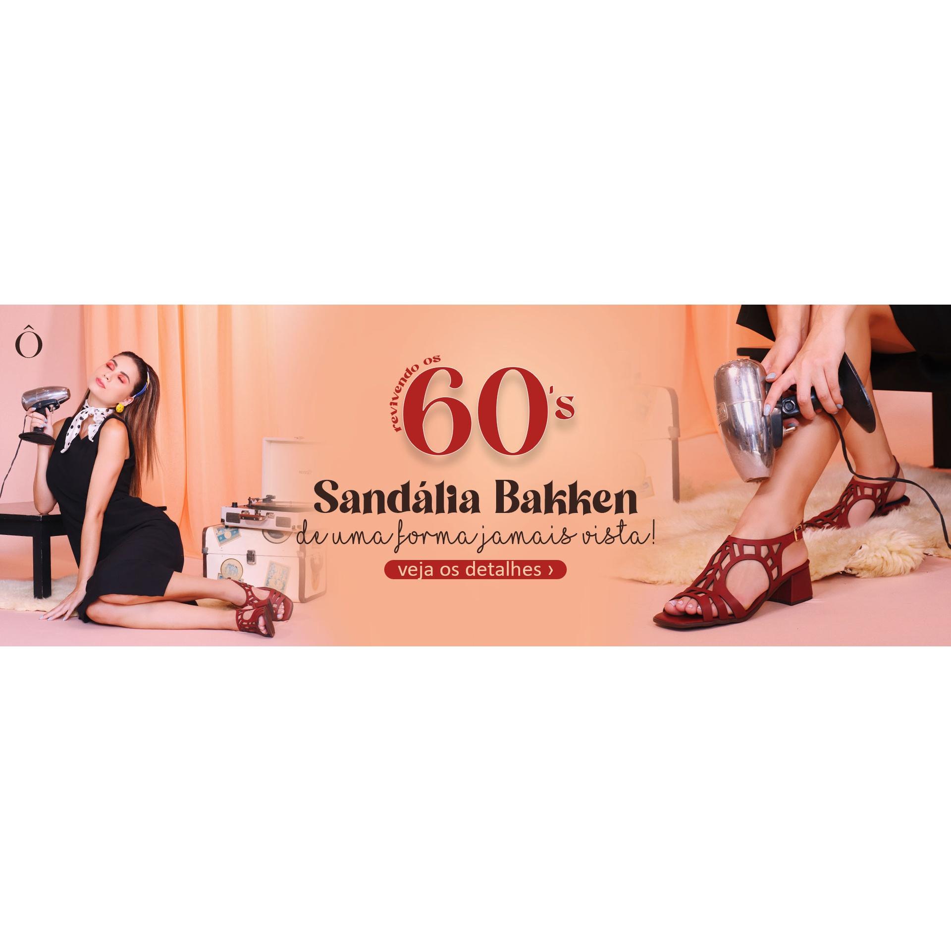 Sandália Bakken Chilli