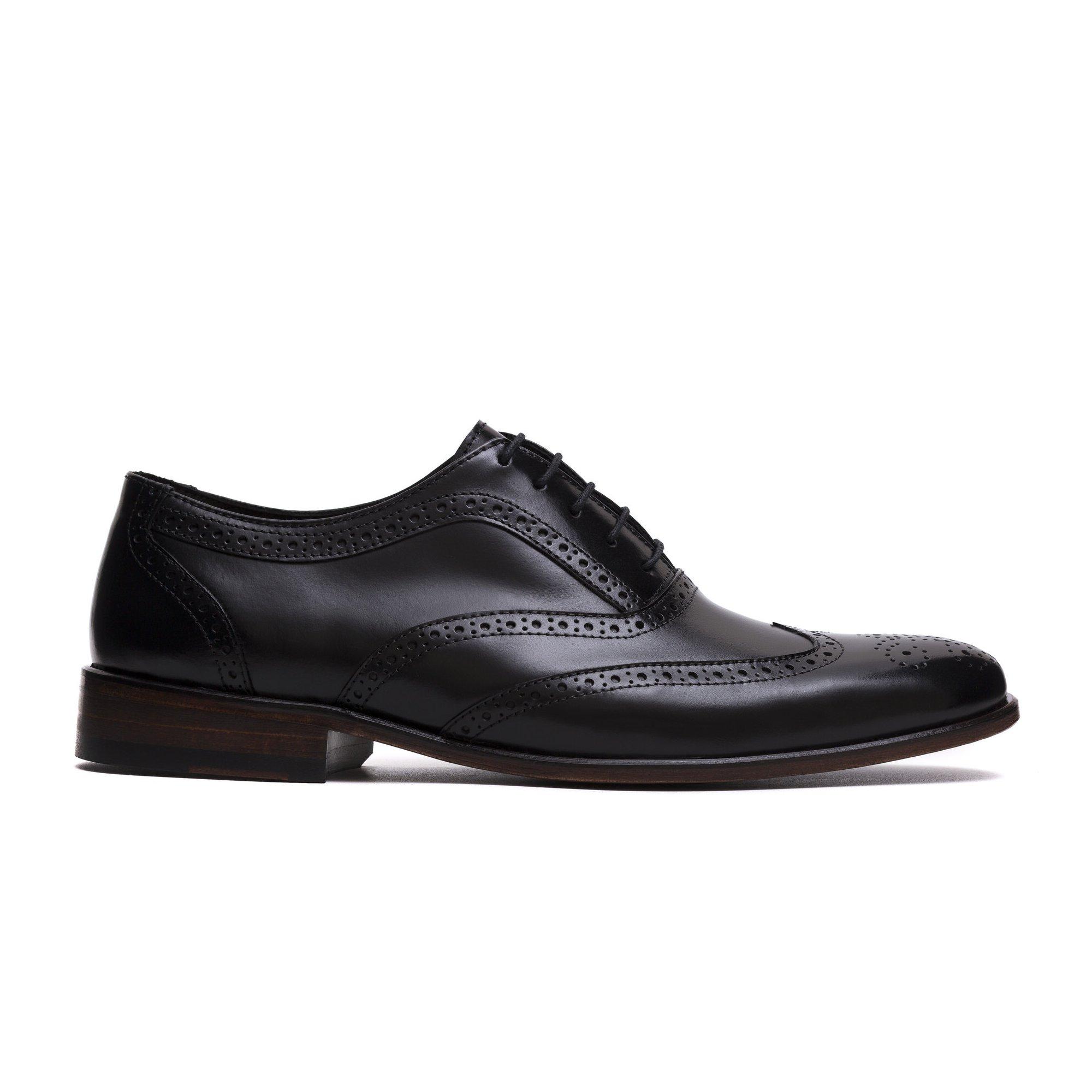 Sapato Brogue Masculino Pierre Preto