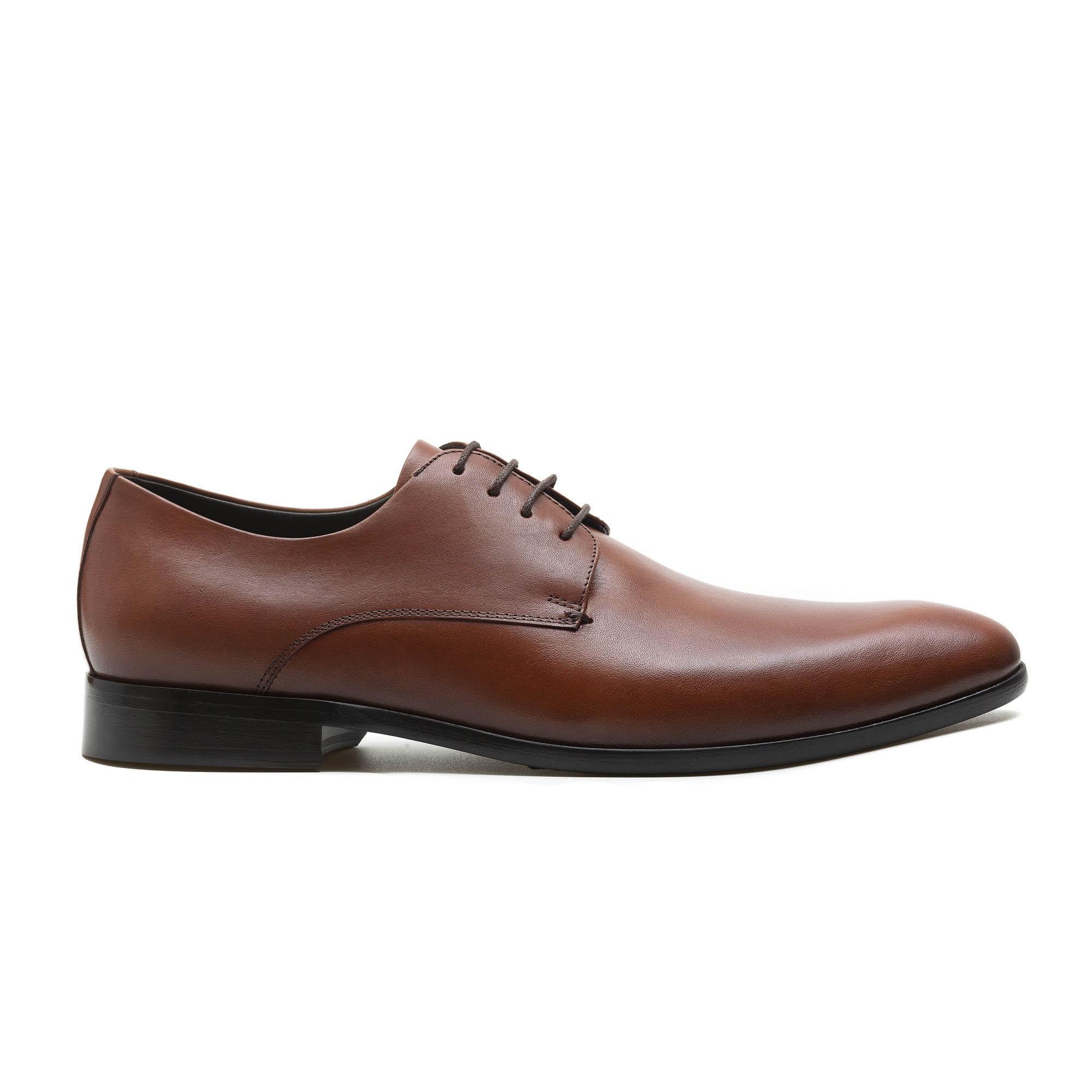 Sapato Derby Masculino Ugo Conhaque