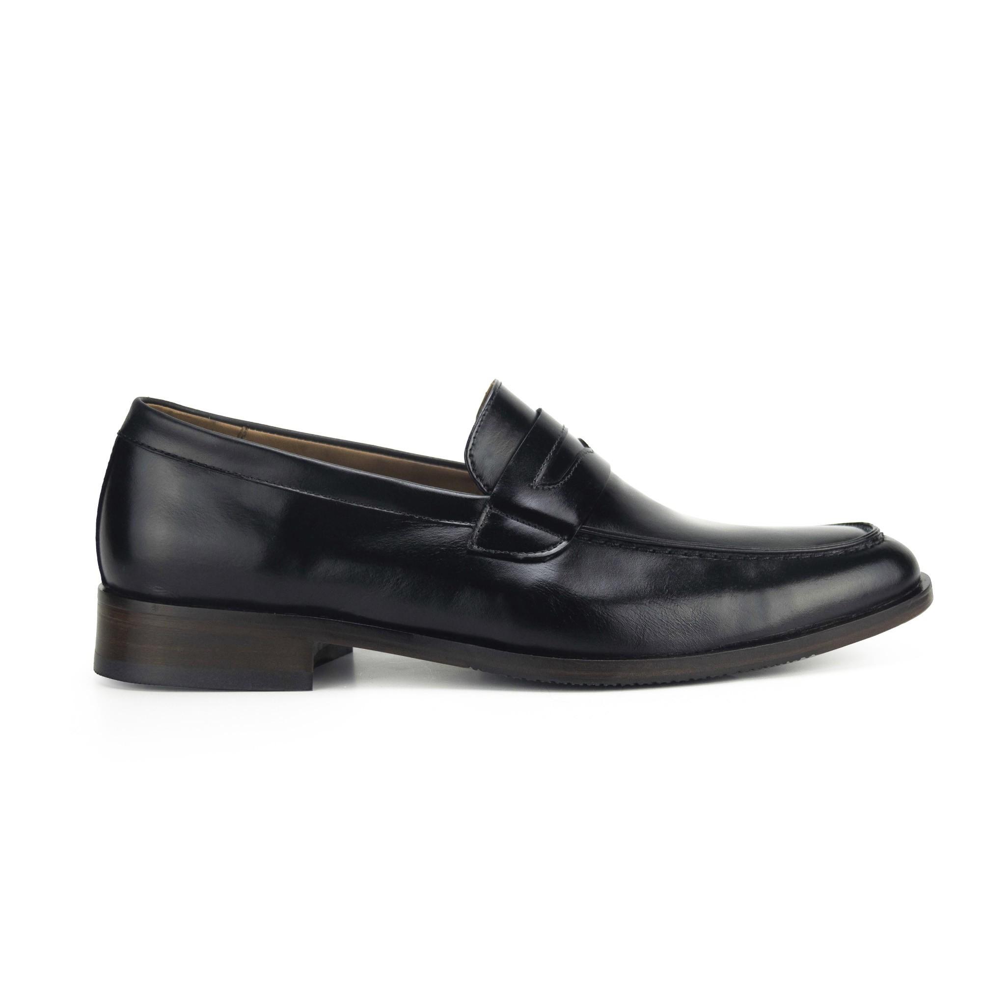 Sapato Loafer Masculino Preto Monbran Dressy