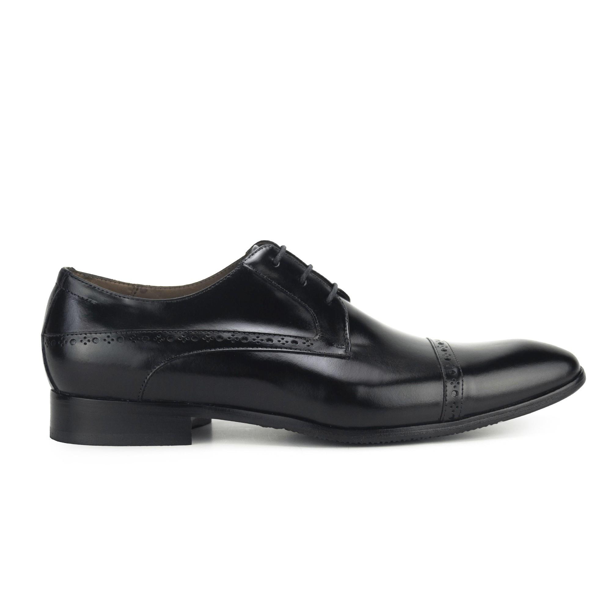 Sapato Derby Masculino Preto Monbran Dressy