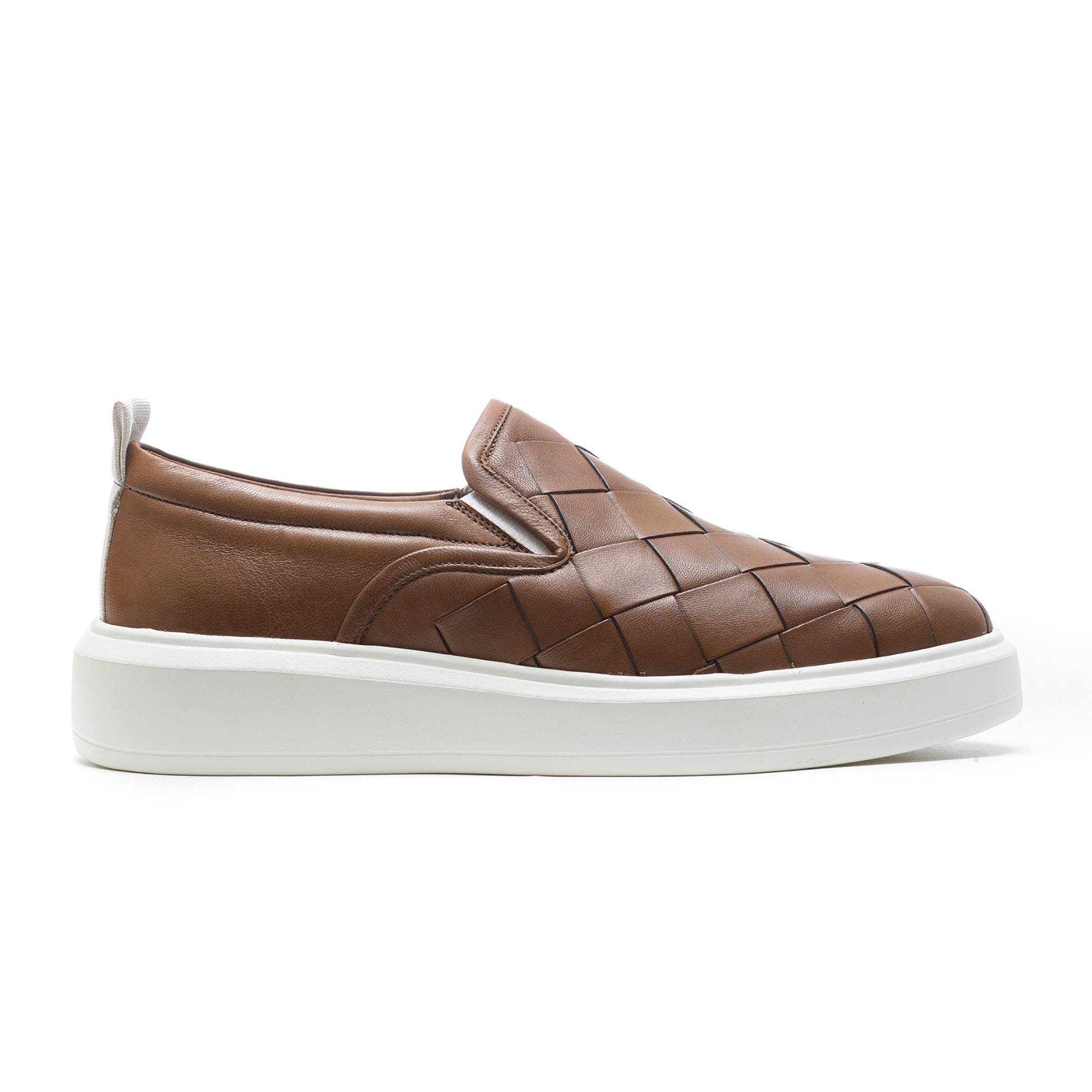 Sneaker Masculino Casual Romeu Marrom