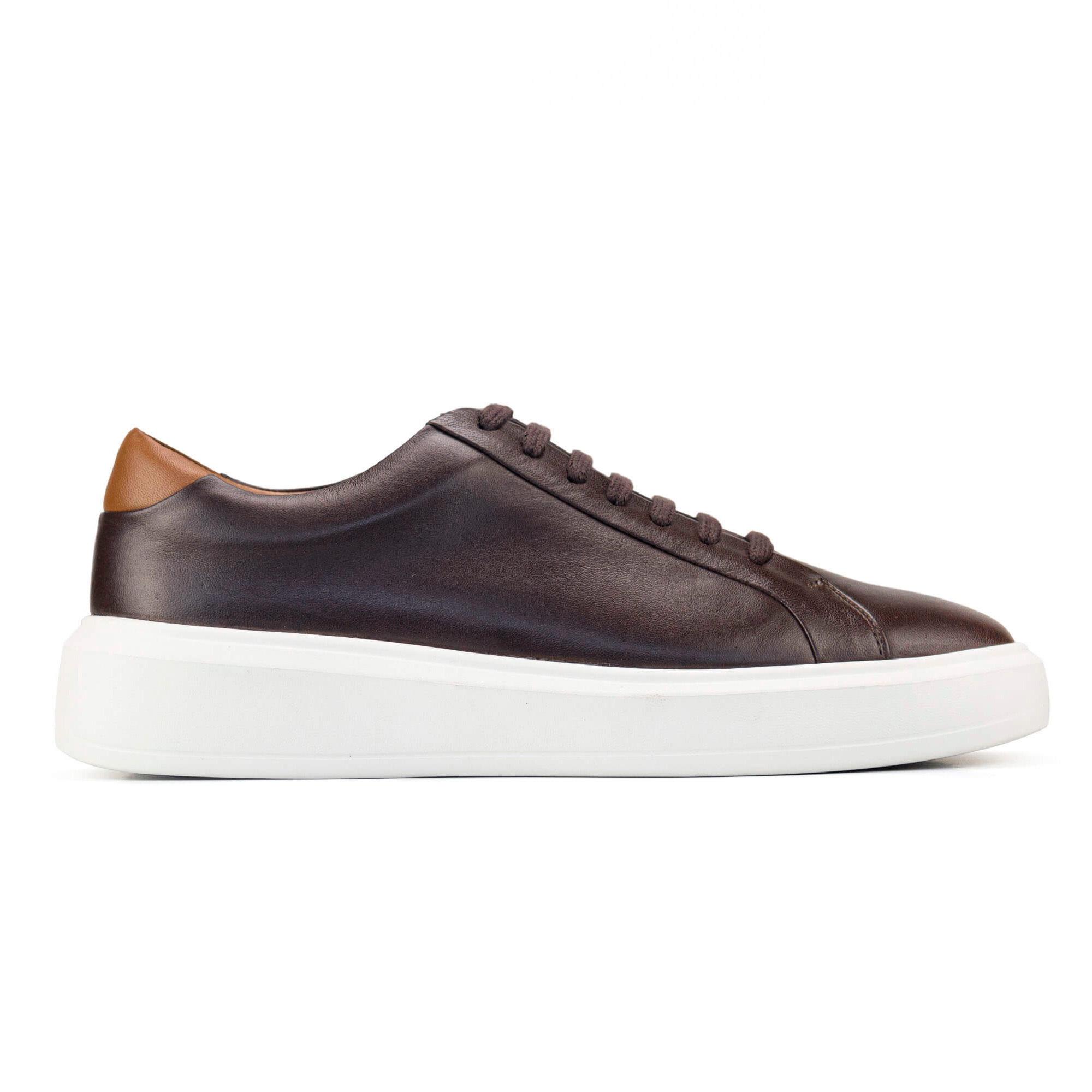 Sneaker Masculino Lewis Marrom