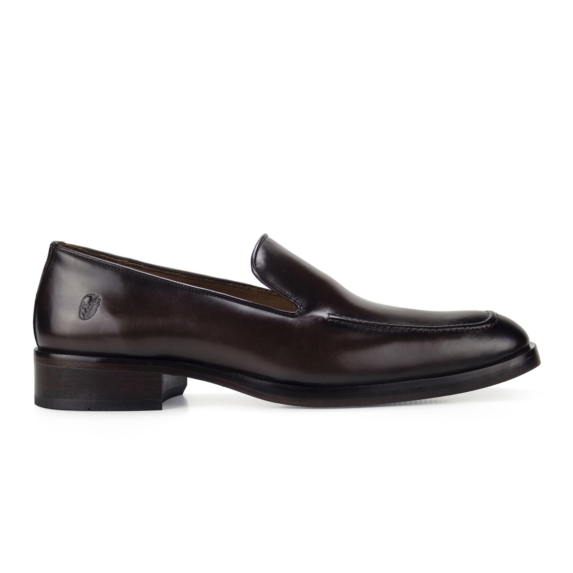 Sapato Mocassim Loafer Masculino Marrom