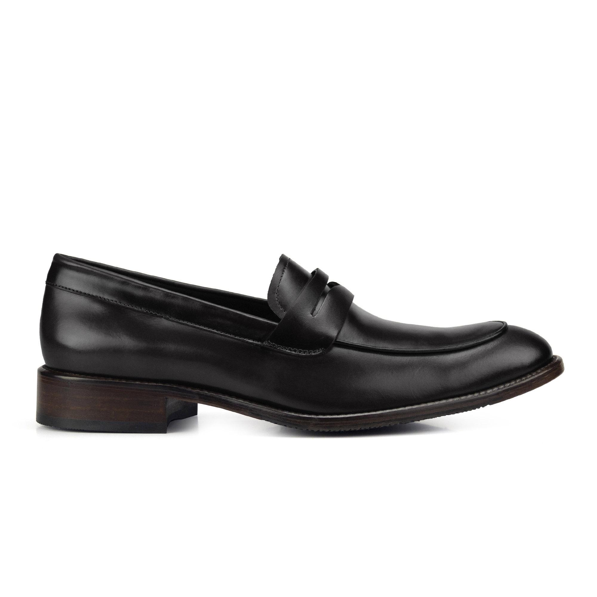 Sapato Mocassim Loafer Masculino Preto