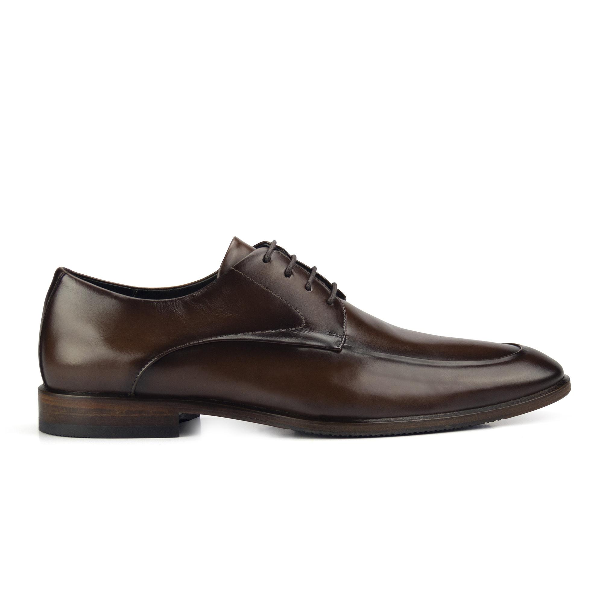 Sapato Derby Masculino Marrom Monbran Dressy