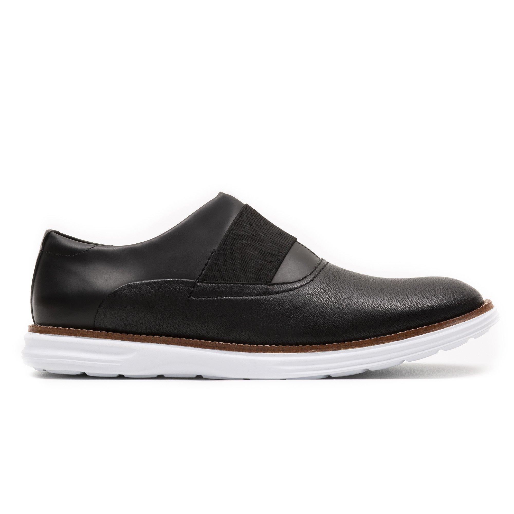 Sapato Casual Masculino Hanks Preto