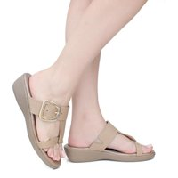 Chinelo Feminino Anatômico - Light Tan - 12200-LT