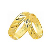 Alianças de Ouro 18k/750 AE129