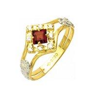 Anel de Formatura em Ouro 18k/750 com Diamante ANF...