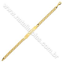 Pulseira de Ouro 18k/750 PL22