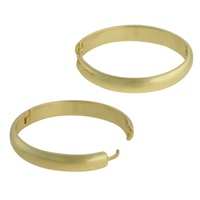Brinco Argola Metal Lesprit U13A060491 Dourado - LESPRIT BIJOUX FINAS