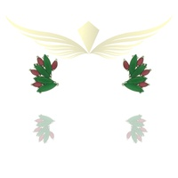 EAR CUFF DE ZIRCONIA P0017801 RH/VD/RU - LESPRIT BIJOUX FINAS