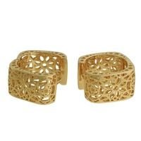 Conjunto Metal Lesprit 60091651 Dourado - LESPRIT BIJOUX FINAS