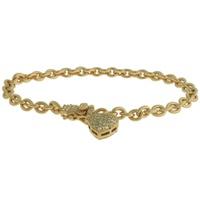 Pulseira Zircônia Lesprit 60068761 Dourado Cristal - LESPRIT BIJOUX FINAS