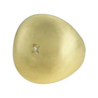 Anel Metal Lesprit LA10381 Dourado Cristal - LESPRIT BIJOUX FINAS
