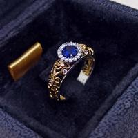 Anel de Formatura Feminino com Diamante