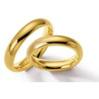 Alianças Clássica de Ouro 18k - 4,0 Milímetros