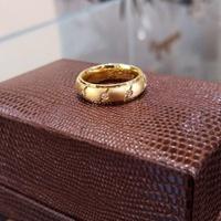 Aliança em Ouro de Casamento com Brilhantes