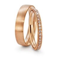Aliança de Casamento em Ouro Rosê
