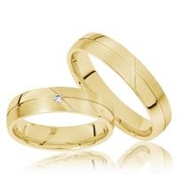 Aliança de Casamento - Ouro 18k 750