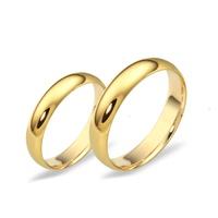 Alianças Clássica 4,5 Milímetros em Ouro 18k - Casamento e Noivado