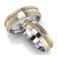 Aliança de Ouro - Bodas de Prata