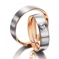 Aliança de Casamento e Noivado - Ouro 18k750