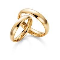 Aliança Ouro Amarelo Classic - 4,0 Milímetros - Ouro 18k