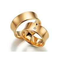 Aliança de Casamento Côncava