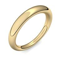 Aliança de Casamento com Diamantes de 10 Pontos