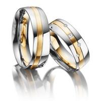 Aliança de Casamento - Ouro 18k