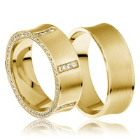 Aliança de Casamento Glamour