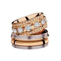 Aliança de Casamento Glamour com Diamantes de 25 Pontos