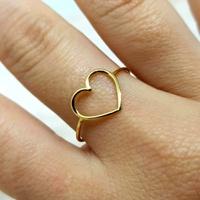 Anel em Ouro 18K Coração