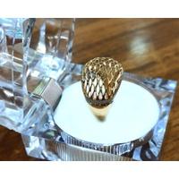 Anel em Ouro 18k Trabalhado Diamantado