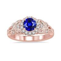 Anel Cravejado com Diamantes - Ouro 18k