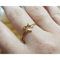 Anel em Ouro 18k Estrela