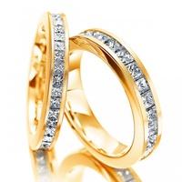 Aparador de Aliança com Diamantes Prince
