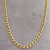 Corrente em Ouro 18k Grume Flat 60cm