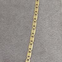 Corrente em Ouro 18k Piastrine 50 cm