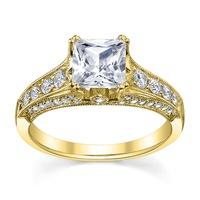 Solitário de Noivado com Diamante Prince