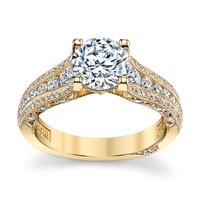 Anel Solitário em Ouro 18k com Diamante de 50 Pontos