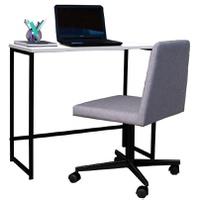 Escrivaninha Home e Cadeira Office Daf Com Rodizio - Incasa Móveis